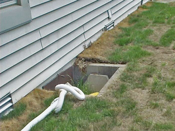 Crawl Space Access Wells Installed In Ithaca Crawl Space