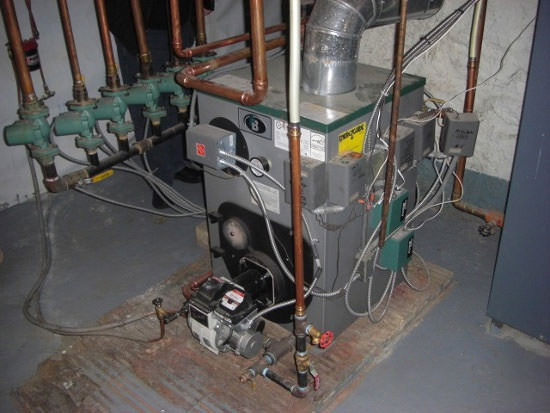 High Efficiency Oil Boiler Installation In New York Oil