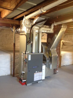 New furnace installed in Ithaca