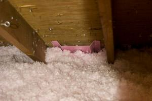 New Insulation installed in Webster attic