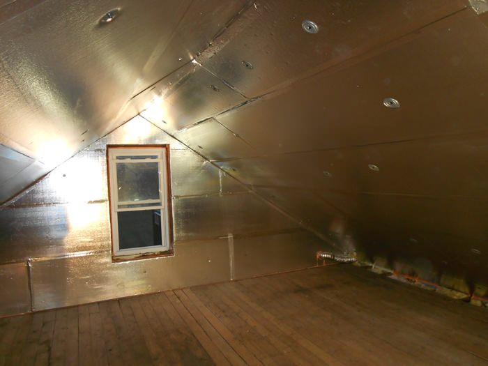 Superattic Attic Insulation In Syracuse Ithaca Rochester Silverglo Rigid Foam Insulation