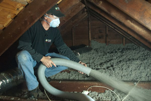 Cellulose Insulation Installation In The Finger Lakes