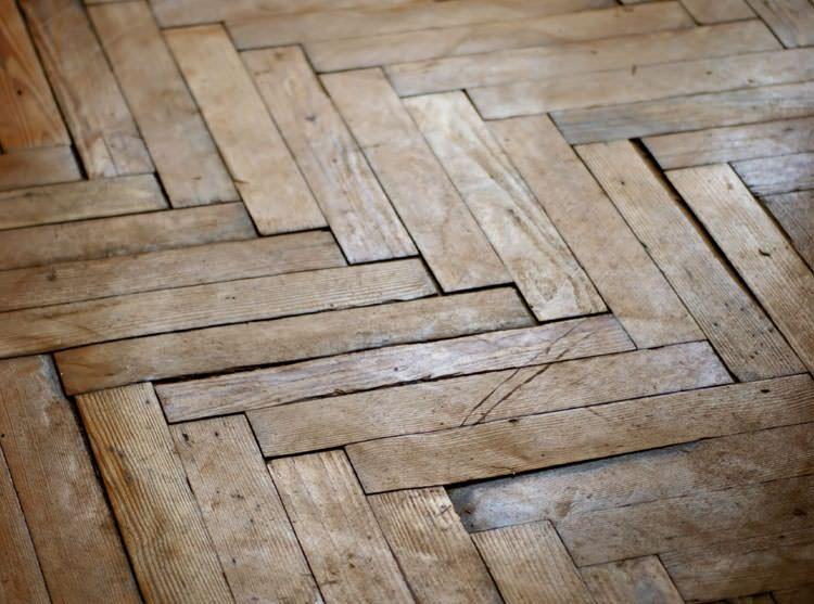 A Buckling Wood Floor