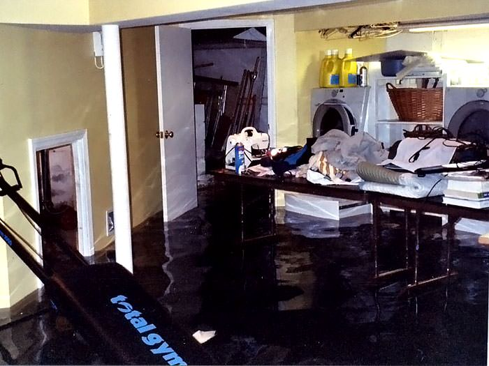 Basements flooding from plumbing failures in rochester ithaca a laundry room flood in with several feet of water flooded in solutioingenieria Image collections
